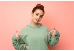 Baumwoll Sweatshirts für Damen